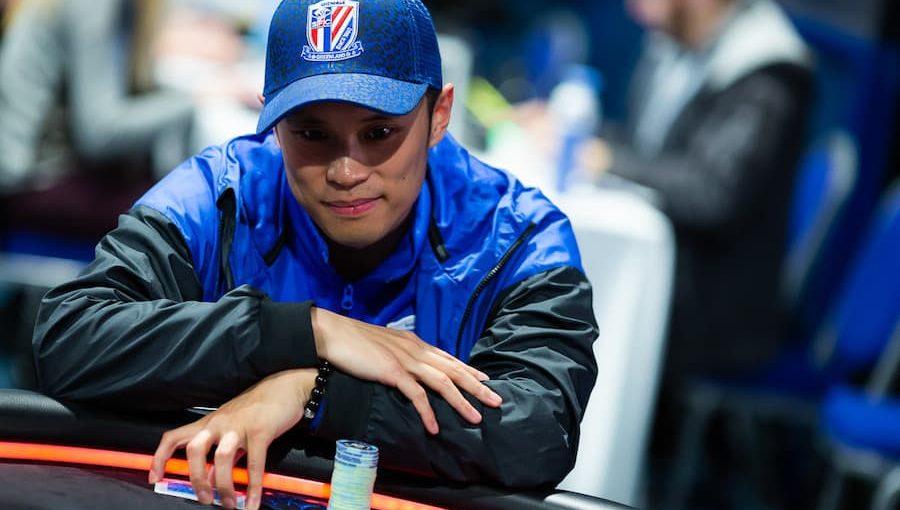 Wei Huang joue avec ses idoles de poker au Main Event de l'EPT Monte-Carlo